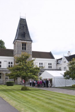 Dulwich Almshouse   Inaugural Summer Social 2018 - Marquee on the Lawn