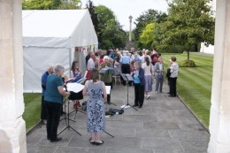 Dulwich Almshouse   Inaugural Summer Social 2018 - Camberwell Recorder Consort and the Welcome Singe