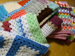 Dulwich Almshouse Charity - Knittted premature baby blankets